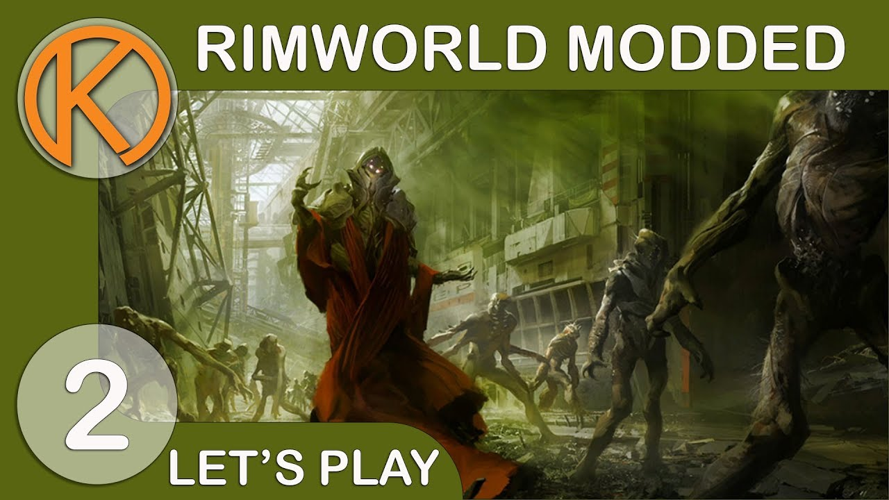 RimWorld 1 0 Modded   FIRST ZOMBIE WAVE - Ep  2   Let's Play RimWorld  Gameplay