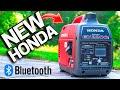 NEW HONDA BLUETOOTH Generator EU2200i Exposed! CO Minder Review / 2021 Model