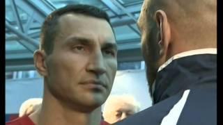 Взвешивание перед боем Кличко Фьюри (Vzveshivanie)