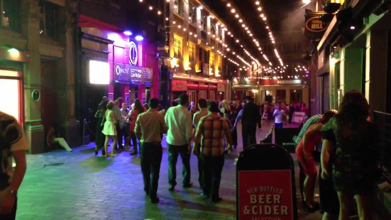Mathew Street Liverpool On Saturday Night Out Youtube