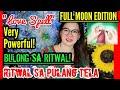 BULONG SA RITWAL NG PULANG TELA | VERY POWERFUL LOVE SPELL