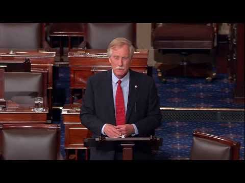 Sen. King: Fund the Affordable Care Act and the Government