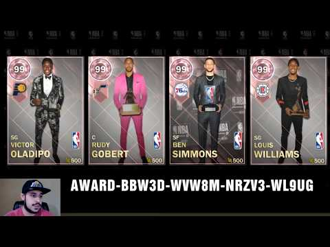 NBA 2K18 MyTEAM FREE PINK DIAMOND LOCKER CODE