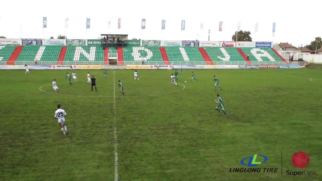 Инджия  1-0  Златибор Чаетина видео