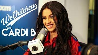 Cardi B talks Coachella, nesting, new music goals and baseball. Wait...baseball???