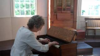 Artis Wodehouse: new music for antique foot-pump organ
