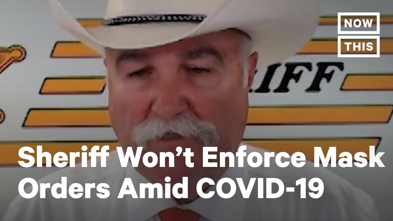 Ohio Sheriff Won't Enforce Governor's Mask Orders