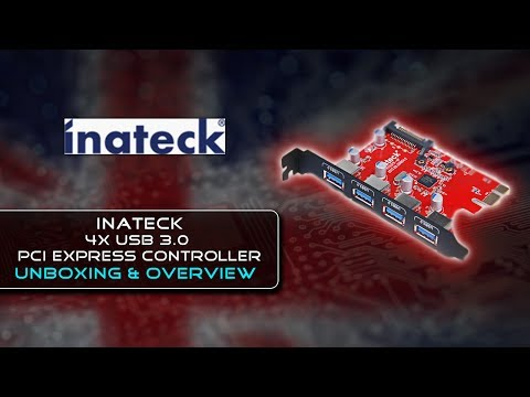 Inateck 4 Ports PCI-E to USB 3.0 Expansion Card {Unboxing}