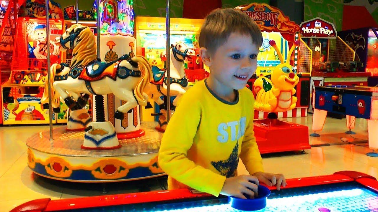 Макс идет играть в игры  Видео про игры для детей
