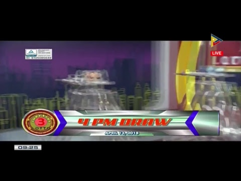 WATCH: PCSO 9 PM Lotto Draw, April 13, 2018