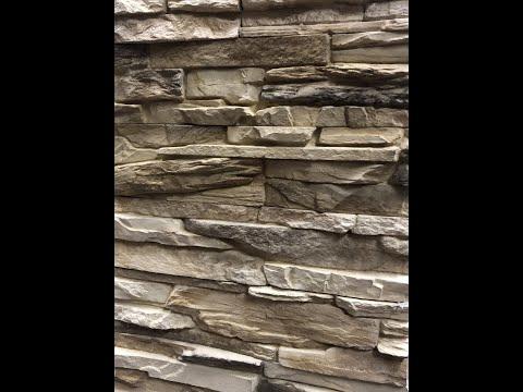 Классический окрас бетонного камня - нанесение маски на поверхность формы