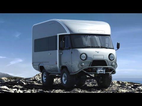 Прощай «Буханка» УАЗ выпустил новый микроавтобус 2018