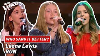 Who sang Leona Lewis'