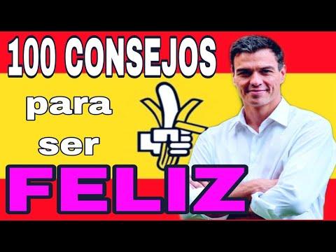 ⚠️100 CONSEJOS para ser FELIZ ?? en la república bananera de SÁNCHEZ.  | ? ? inMatrix