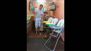 стульчики для кормления Селби обзор в магазине Крошка-Бишкек