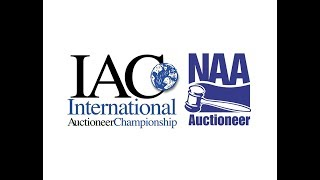 2018 NAA International Auctioneer Championship