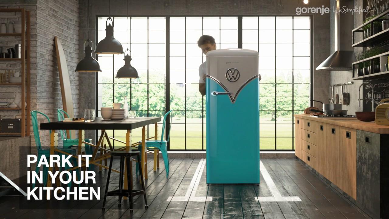 Freestanding Refrigerator Obrb153bl Gorenje International