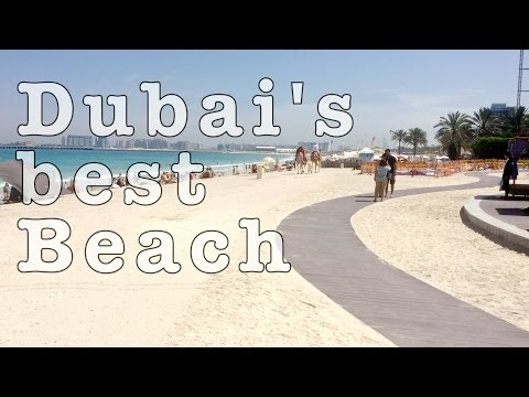 Best Beach in Dubai: JBR – Jumeirah Beach Residence