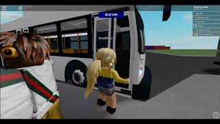 Roblox Vortex Transit New Flyer XD60 Ride