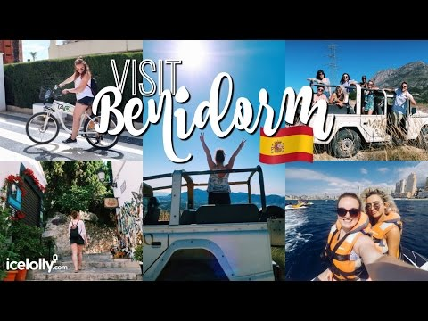 BENIDORM ADVENTURE! 🇪🇸 | Jet Skiing, Jeep Tour & Tapas! ♡ | Brogan Tate