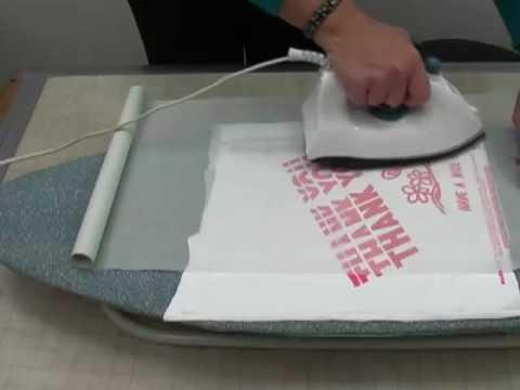 How To Make A Sturdy Tote From Plastic Shopping Bags Youtube