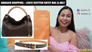 Louis Vuitton Artsy MM and LV …