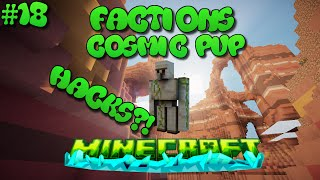 """KingIron Golem HACKS!"" Minecraft Factions Cosmic Pvp Jungle Planet #18 w/Msterunter"