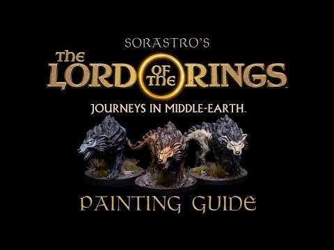 Sorastro's The Lord Of The Rings Painting Series Ep.2: Hungry Wargs