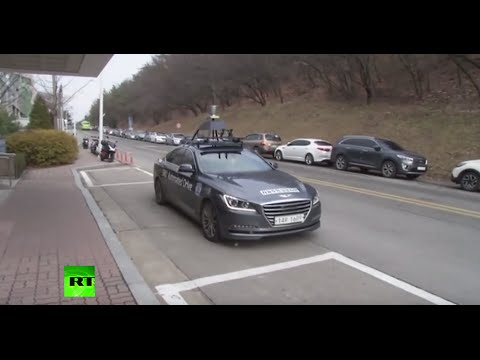 Welcome to the Future? Automated taxi test takes place in Seoul