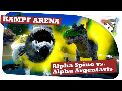 Alpha Spino King vs. Alpha Argentavis King | Luft-Kampf-Arena Ark Survival Evolved: