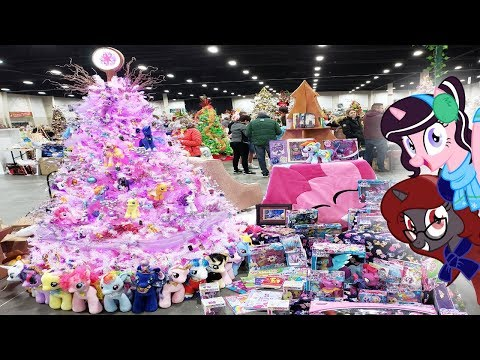 """My Little Pony Holiday"" - The Making of the 'Festival of Trees' Tree"