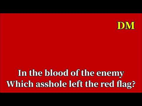 Song of the red flag (North Korea)