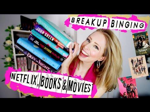 Breakup Binging: BOOKS, TV, & MOVIES