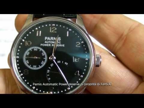 PARNIS PI37 44MM CLASSIC PILOT BIG CROWN HANDWIND FLIEG ...