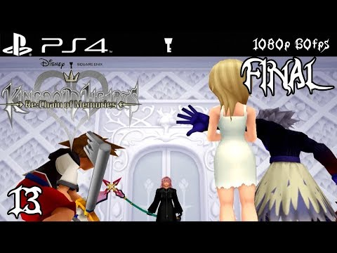 PS4 Kingdom Hearts Re:Chain of Memories Walkthrough 13 Castle Oblivion (1080p 60fps - FINAL)