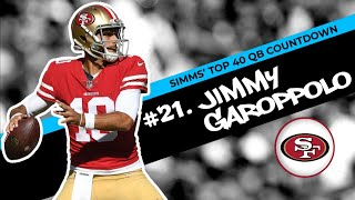 Download Chris Simms' Top 40 QBs: Jimmy Garoppolo lands at No. 21   Chris Simms Unbuttoned   NBC Sports Mp3 and Videos
