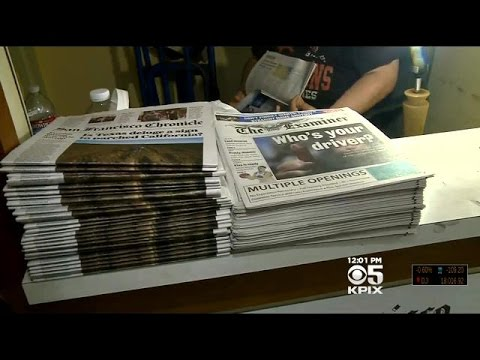 San Francisco Chronicle Cuts News Vendors Due Rising Minimum Wages