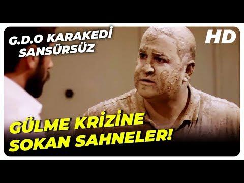 G.D.O KaraKedi Komik Sahneler | Türk Komedi Filmi