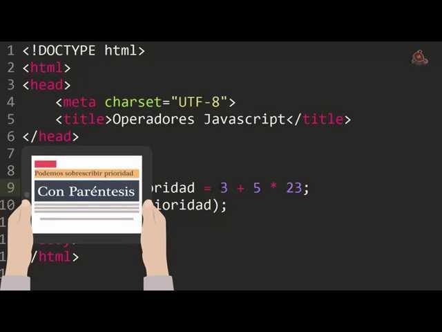 08.- Curso de JavaScript para principiantes. Operadores en JavaScript...