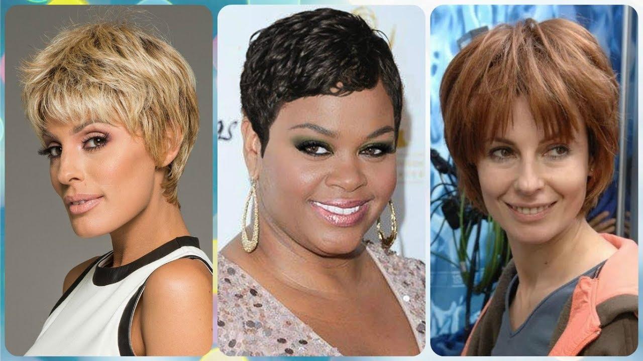 Modelos de cortes cabello corto para mujeres mayores 50 - YouTube baf7ef104bac