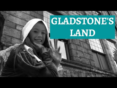 Gladstone's Land Royal Mile Edinburgh - Historic Buildings in Scotland Cities - Edinburgh History