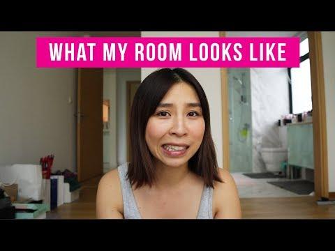 My Beauty Room Tour/ Makeover - Tina Sashimi