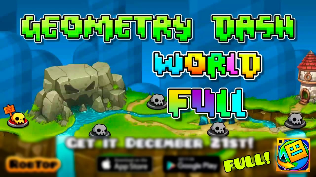 how to get geometry dash world on pc