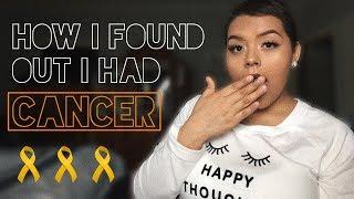 How I found out I had cancer (Acute Lymphoblastic Leukemia) | Jessica Orona 🎗