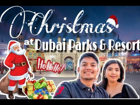 Dubai Parks and Resorts Travel VLOG | Bollywood | Motiongate | Legoland | Christmas Edition 2019
