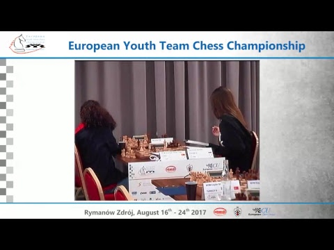 Round VII - European Youth Team Chess Championship 2017