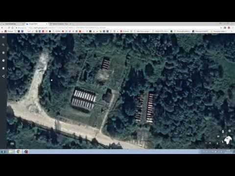 Kaliningrad and near places, military objects Russia airports and areas in Europe near Poland