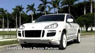 2008 Porsche Cayenne Turbo 500HP Sand White Gulfstream Motorcars