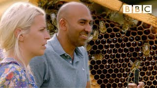 Travelling blind and 'seeing' BEES differently  - BBC