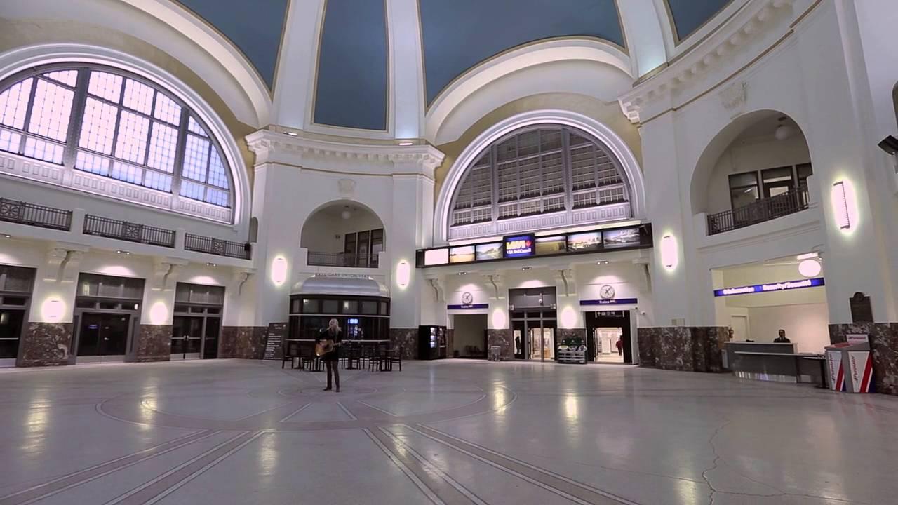 Everyone Walks By | Justine Vandergrift at Union Station, Winnipeg